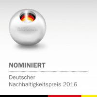 """NATURSTROM ist in der Kategorie """"Deutschlands nachhaltigste Marke"""" nominiert."""