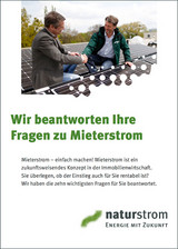 NATURSTROM Mieterstrom Leitfaden fuer die Immobilienbranche cover