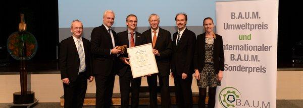 NATURSTROM-Vorstand erhält B.A.U.M.-Umweltpreis