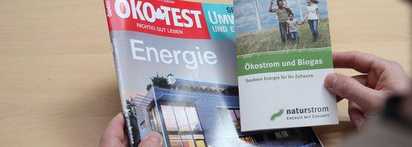 """Öko-Test bewertet naturstrom mit """"sehr gut"""""""