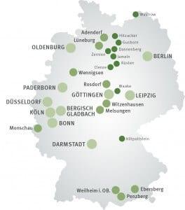 In diesen Städten leben die meisten NATURSTROM-Kundinnen und Kunden!