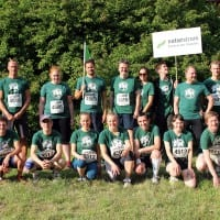 Das NATURSTROM-Team kurz vor dem Start © NATURSTROM AG