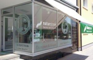 NATURSTROM Ladenlokal_Bruchsal_Außenansicht