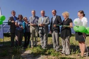 Einweihung Solarpark Uttenreuth_Juli 2015
