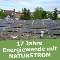 Die Photovoltaik-Anlage des trinationalen Umweltzentrums auf dem Rathausgebäude in Weil am Rhein war das allererste Kraftwerk, das die NATURSTROM AG gefördert hat. (Bild: © Sandra Ühlin, Stadt Weil am Rhein)