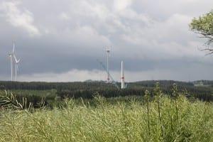 Windkraftanlage Berg