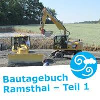 In Ramsthal, einer Gemeinde im unterfränkischen Landkreis Bad Kissingen, entsteht ein Bürgerwindpark. NATURSTROM beschreibt im Projekt-Bautagebuch mit Text und vielen Bildern, wie nach und nach Windenergieanlagen aus dem Boden wachsen. (Bild: © NATURSTROM AG)