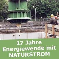 Das Hamburger Wasserkraftwerk Fuhlsbüttel wurde von NATURSTROM gefördert. (Bild: © NATURSTROM AG)