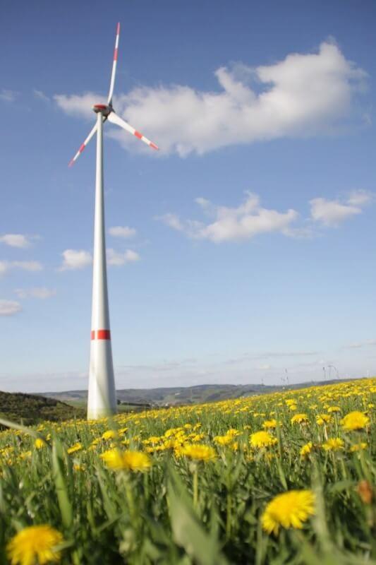 NATURSTROM-Windkraftanlage Lichtenborn