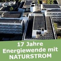 Von NATURSTROM geförderte Solaranlage. (Bild: © NATURSTROM AG)