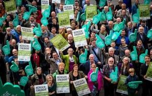 """Bürger kämpfen für """"ihre"""" Energiewende"""