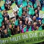 Fotoaktion zum Klimaaktionstag / Foto: Jörg Farys/Bündnis Bürgerenergie e.V.