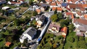 Transport der Rotorblätter © NATURSTROM AG