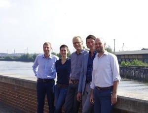 Mitarbeiter am Standort Hamburg