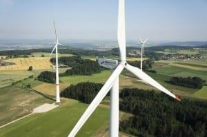 Ende 2011 ging der Windpark Neudorf in Betrieb. Seitdem produziert er sauberen Strom © NATURSTROM AG