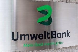 Die UmweltBank investiert ausschließlich in Projekte mit Umweltbezug. © Umweltbank