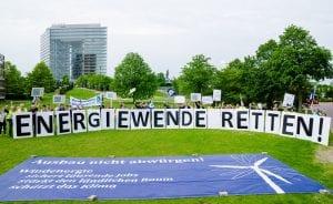 Der LEE NRW hat zu einer Fotoaktion für die Energiewende aufgerufen. (c) LEE NRW