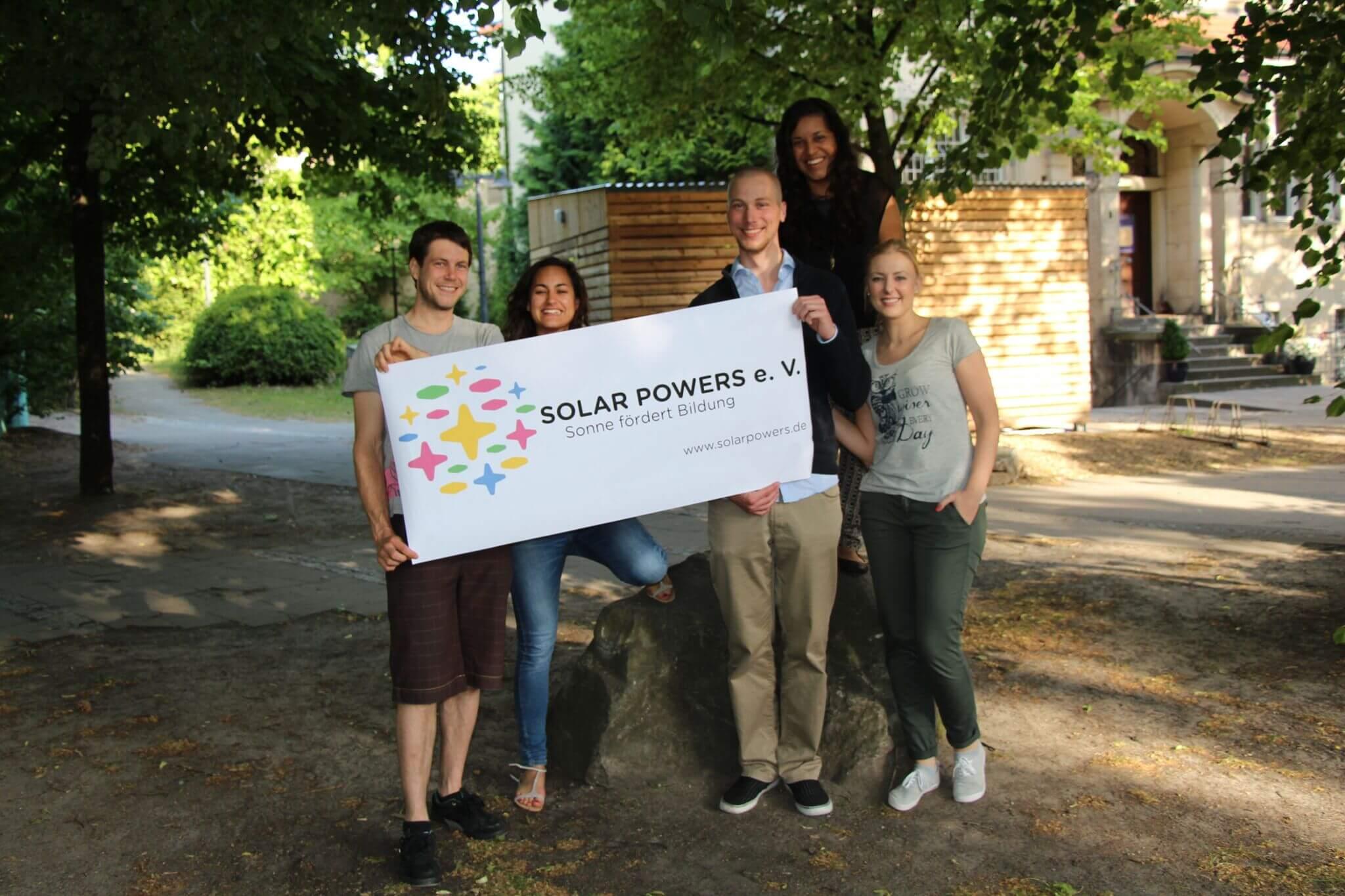 Der studentische Verein Solar Powers will auf den Dächern der TU Berlin Photovoltaikanlagen installieren © Soalr Powers e.V.