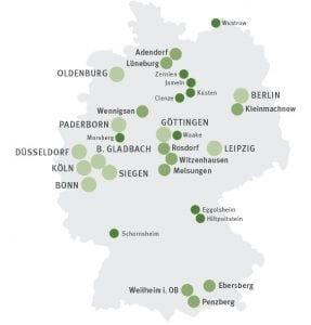 Viel Bewegung gibt es bei den kleinen Städten und Gemeinden bis 10.000 Einwohnern.