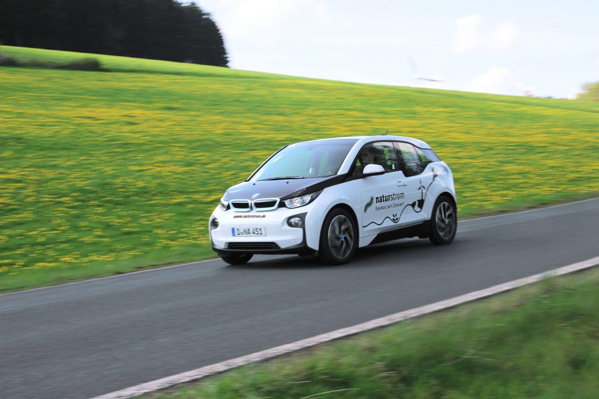 BMW i3 mit naturstrom