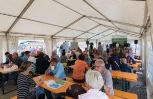 Viele hundert Gäste besuchten das Windfest Ramsthal. (c) NATURSTROM AG