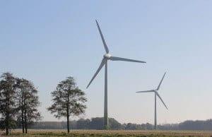 Unsere schönsten Förderprojekte: NATURSTROM stellt seinen ersten Windpark vor, den Windpark Hüll. (Bild: © NATURSTROM AG)