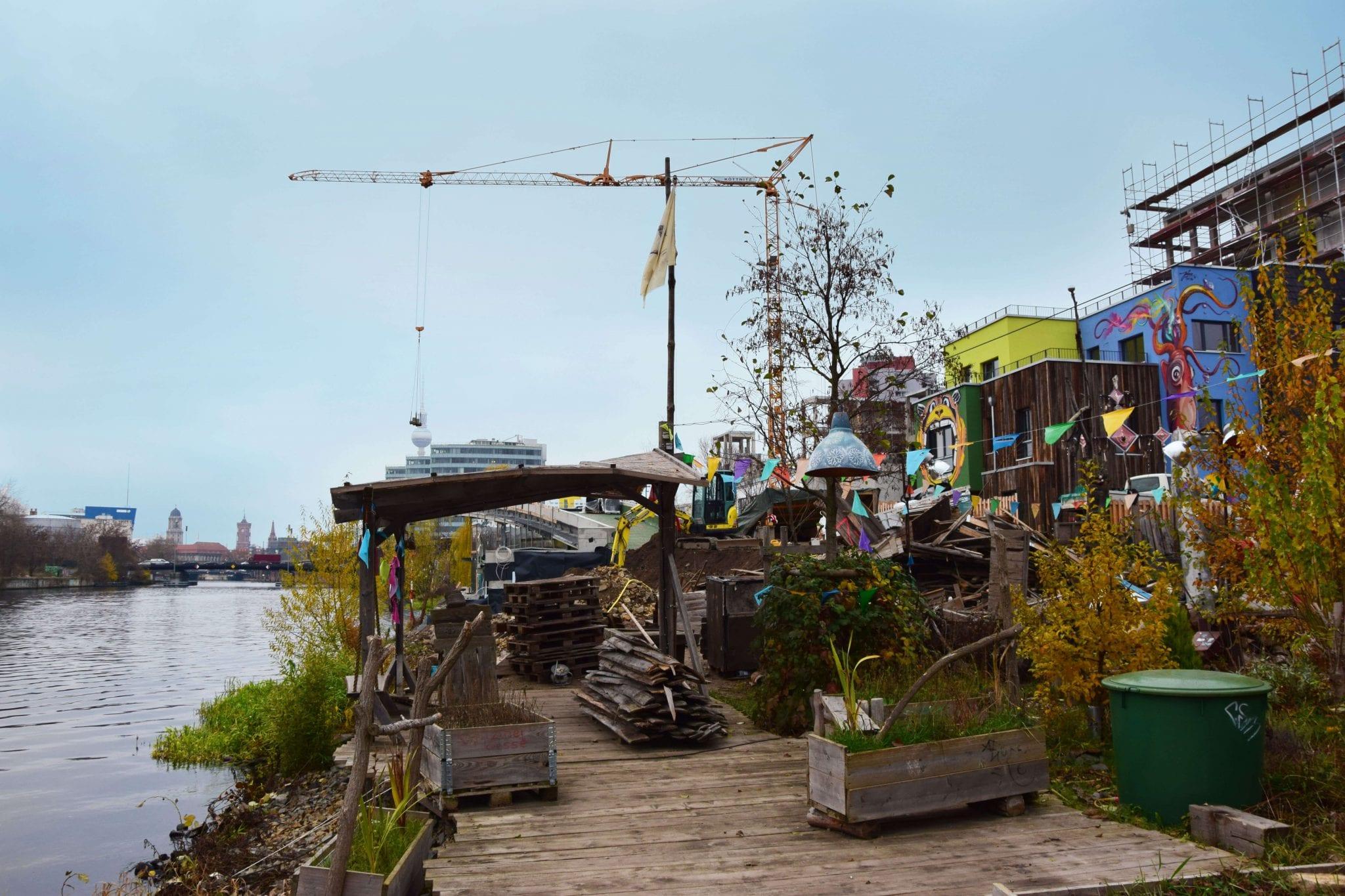 Ein Kreativ-Quartier, das auch hinsichtlich seiner Energieversorgung Zeichen setzt - der Berliner Holzmarkt © NATURSTROM AG