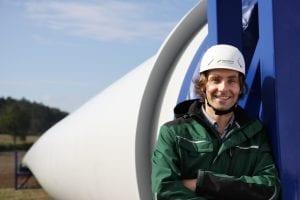 Windkraft-Projektierer Max Wackwitz © NATURSTROM