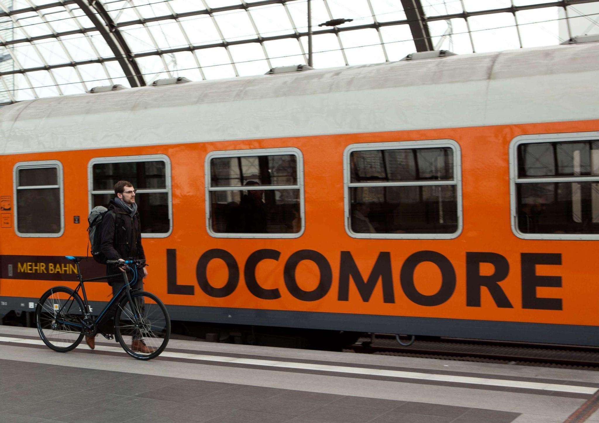 Locomore setzt voll auf Nachhaltigkeit. Das Konzept ist mutig - und hätte den Erfolg verdient. © NATURSTROM AG