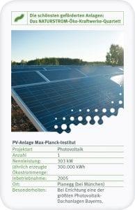 PV-Anlage Max-Planck-Institut