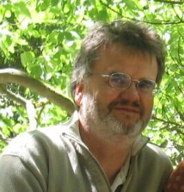 Martin Schinke kümmert sich bei NATURSTROM um die Elektrifizierung des Kirchentags.