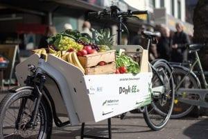 Donk-EE als Einkaufswagen