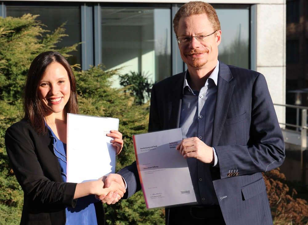 Stipendiatin der NATURSTROM-Stiftung_Foto NATURSTROM AG