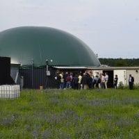 Biogasanlage auf Gut Lanke im Baranim, Pressereise AEE Foto: AEE