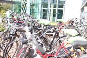 Gewartete Fahrräder_NATURSTROM_Mitarbeiteraktion