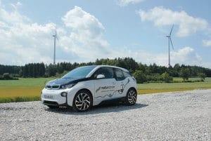 Elektromobilität - ein innovatives Geschäftsfeld, auch bei NATURSTROM. Highlight 2017 © NATURSTROM