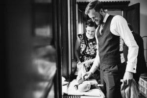 NATURSTROM-Kunde Lutz Friedrichs erzählt, wie es sich als junge Familie nachhaltig leben lässt.