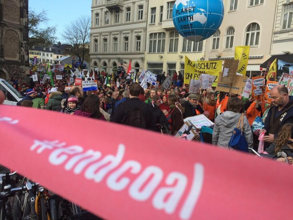COP 23_ NATURSTROM in Bonn_ Demo