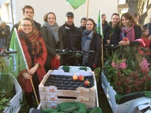Highlight 2017 Das NATURSTROM-Team bei der COP 23-Demo. Foto: NATURSTROM