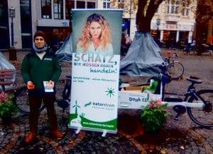 NATURSTROM unterwegs während der COP 23 in Bonn.