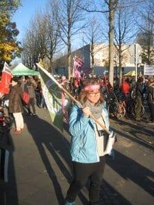 NATURSTROM unterwegs bei der COP 23-Demo.
