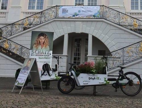 NATURSTROM war während der Weltklimakonferenz COP 23 in Bonn mit Donk-EEs unterwegs. Foto: NATURSTROM