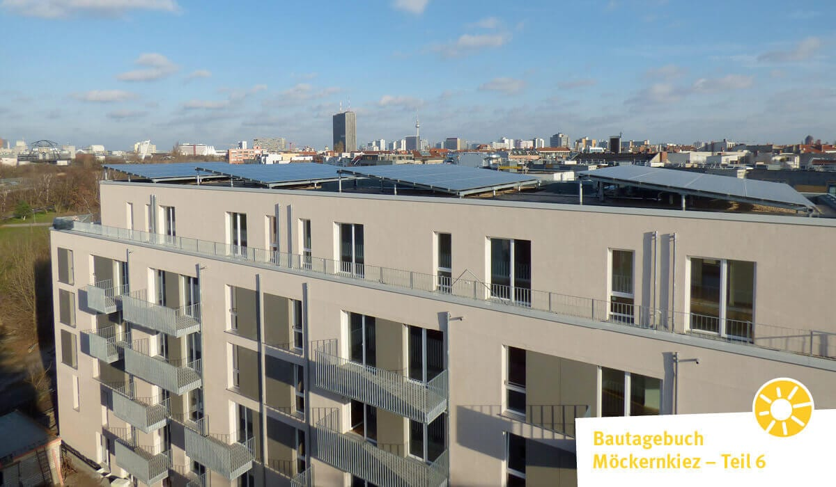 Mitten in Berlin entsteht ein nachhaltiges Wohnprojekt: Die Möckernkiez eG verwirklicht auf 30.000 Quadratmetern ein neues Stadtquartier. Für die Energieversorgung arbeitet die privat organisierte Wohnungsbaugenossenschaft mit NATURSTROM zusammen