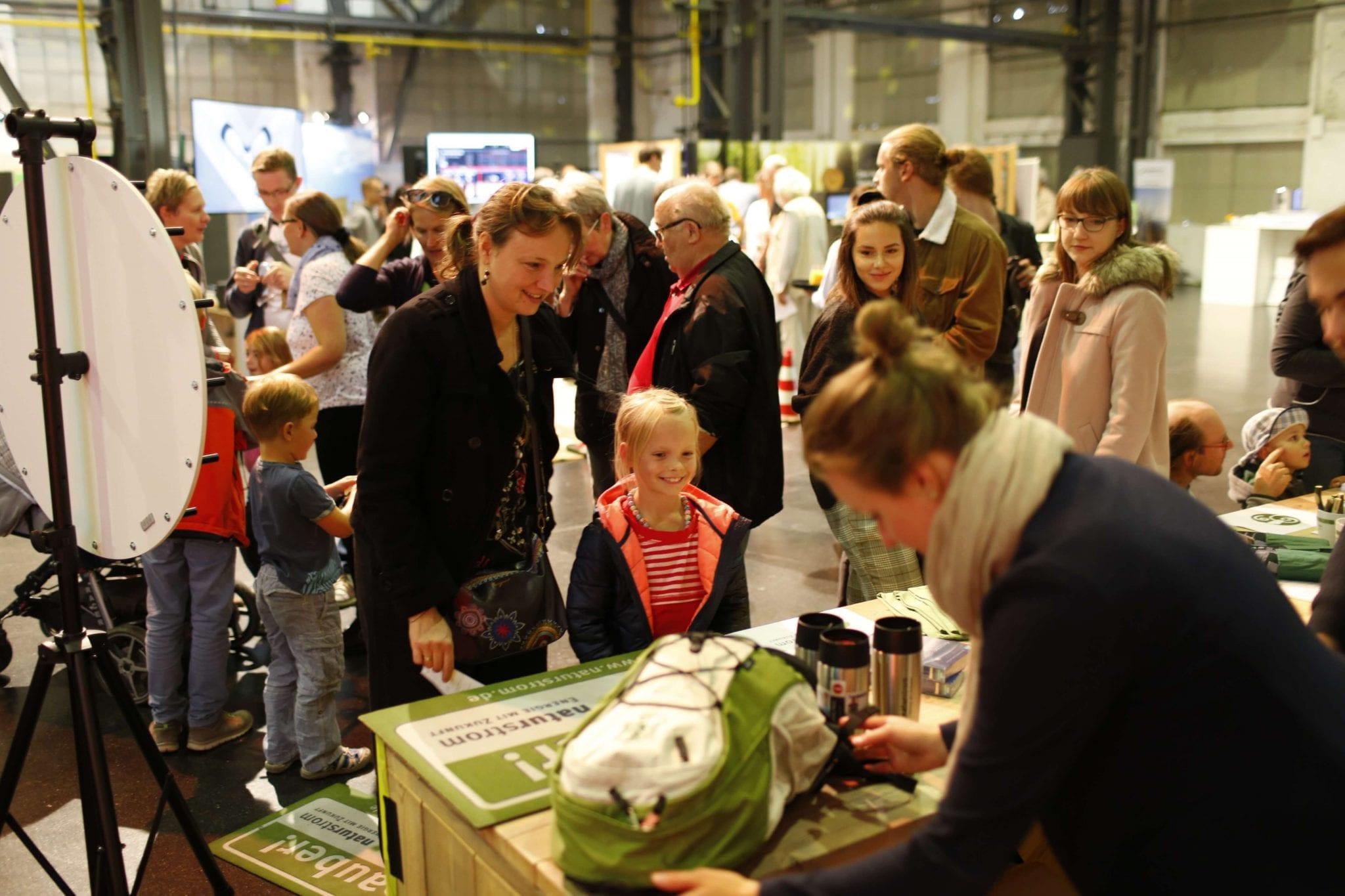 Für Familien wurde beim Sommerfest der NATURSTROM AG viel geboten © NATURSTROM AG