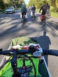 Mit dem Donk-EE unterwegs zum Hambacher Wald