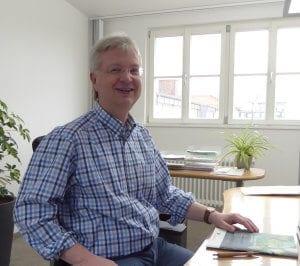Harald Lieberth, Geschäftsführer von Klimaschwarm.de