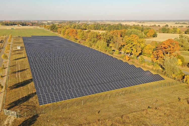 0 Cent Förderung genügten dem Solarpark Wittrock im August zum wirtschaftlichen Betrieb © Wattner AG