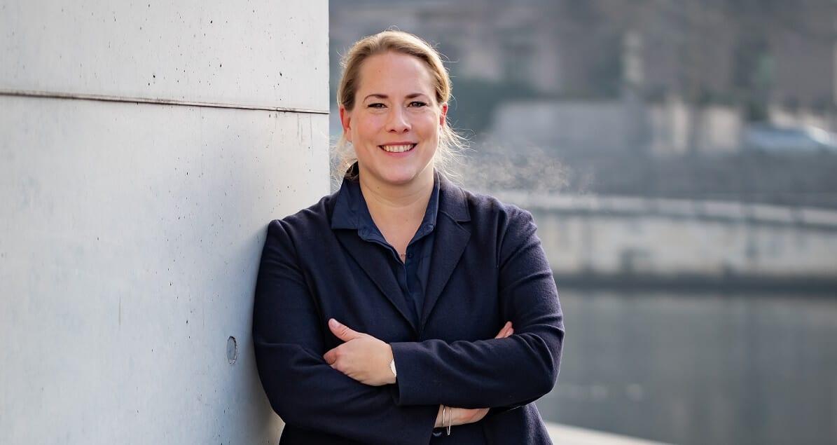 Katharina Reuter von Unternehmensgrün hat die entrepreneurs for future mit initiiert.