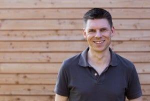 Marc Vogel, Personalleiter der NATURSTROM-Gruppe - und nachhaltiger Häuslebauer