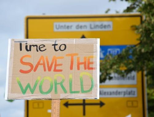 FFF Demoschild Berlin